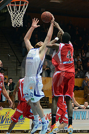 Kaposvar - Kormend basketball game