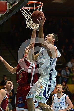 Kaposvar - Salgotarjan basketball game