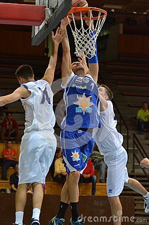 Kaposvar - Zalaegerszeg basketball game
