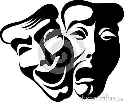 θεατρικός ηθοποιός μασ&kappa
