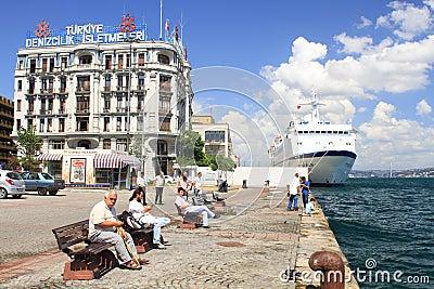 Karakoy Port Editorial Photo