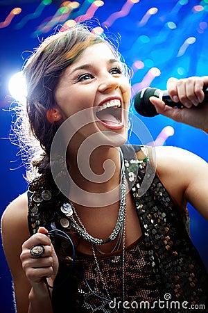 Free Karaoke Royalty Free Stock Photography - 16537967