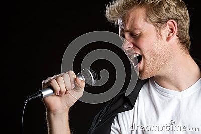 Karaoke Singer Man