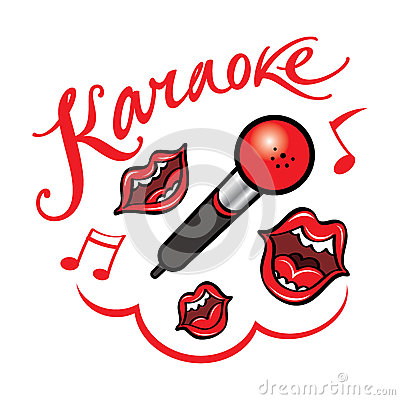 Karaoke Clipart Karaoke Stock Illustrations