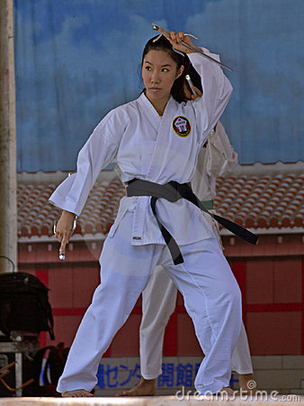 Karate Editorial Photo