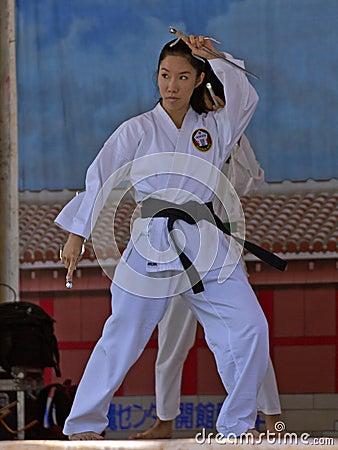 Karate Editorial Photo