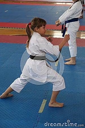 Karate Editorial Stock Photo