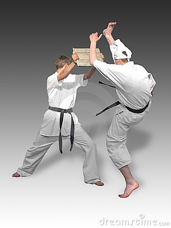 Free Karate Royalty Free Stock Image - 823166