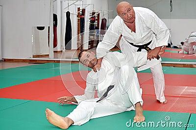Karate Kick Lesson