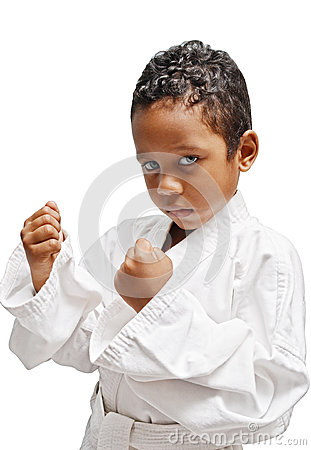 Free Karate Kid Stock Photo - 38102160