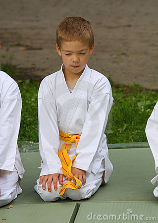 The karate kid on competition