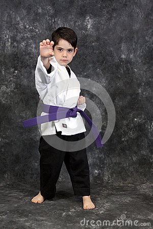 Karate palm heel strike