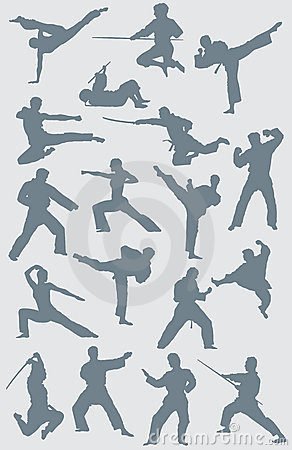 Karate Vector Figures