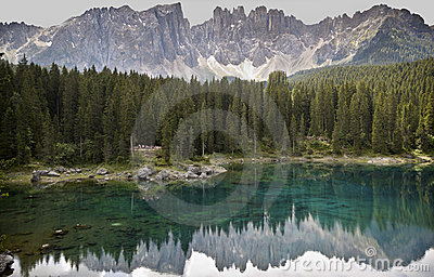 The Karersee, Italy