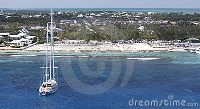 Karibisk utsikt