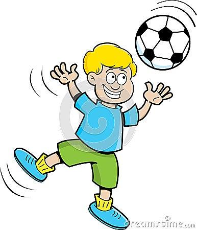 Bilderesultat for barn med ball karikatur