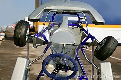 Kark little car competition vehicle detail