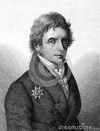Karl Ferdinand Friedrich von Nagler Editorial Image