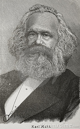 Karl Marx Editorial Photo