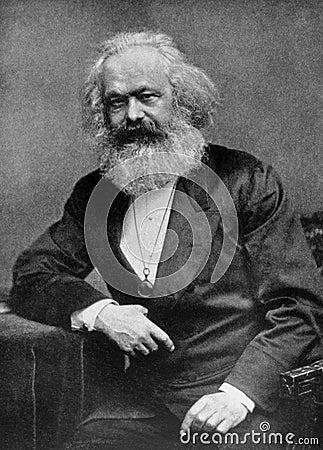 Karl Marx Editorial Image
