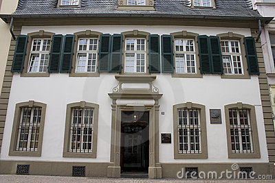 Karl Marx house in Trier