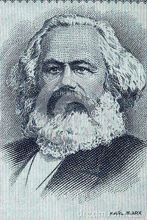 Free Karl Marx Portrait From Old German Money Royalty Free Stock Photo - 80378545