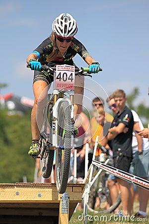 Karla Stepanova - MTB cross country Editorial Image