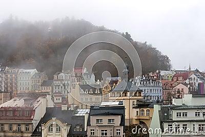 Karlovy Vary cityscape