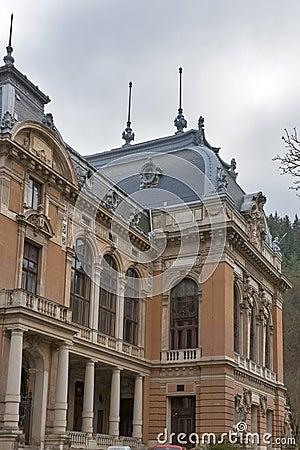 Karlovy Vary gothic spa architecture