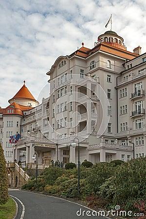 Karlovy Vary Hotel Imperial Editorial Stock Photo