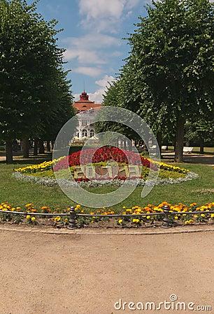Karlovy Vary, park