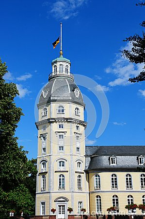 Karlsruhe palace tower
