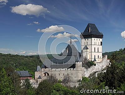 Castle, Karlstejn, Czech Republic