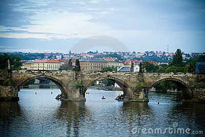 Karluv most bridge in Prague.