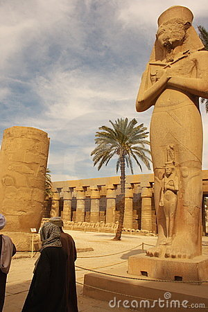 Free Karnak Temple Egypt Royalty Free Stock Image - 4150676