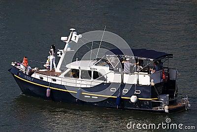 Karnawałowy statek Obraz Editorial