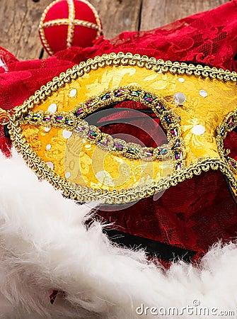 Karnawał, nowy rok maska