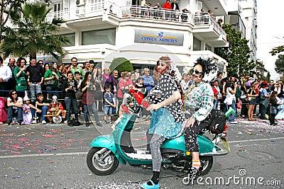 Karneval Redaktionelles Bild
