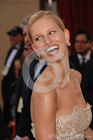 Karolina Kurkova Editorial Stock Image