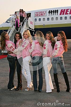 Karolina Kurkova,Selita Ebanks,Victoria s Secret,Adriana Lima,Alessandra Ambrosio,Bob Hope,Gisele,Gisele Bundchen,Izabel Goulart Editorial Image