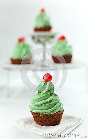 Karotte-kleine Kuchen