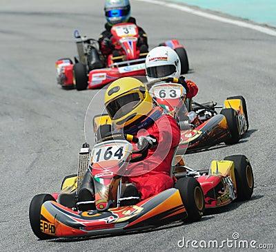 Free Kart Racing Royalty Free Stock Images - 10551029