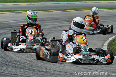 Kart Racing Editorial Image