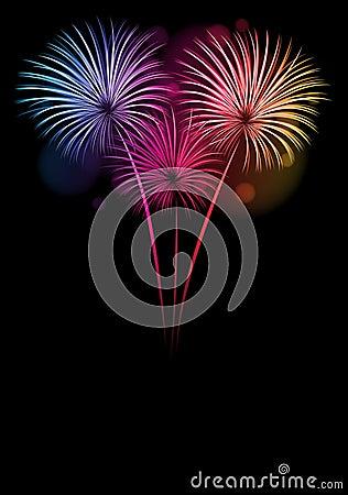 Karte des glücklichen neuen Jahres 2013