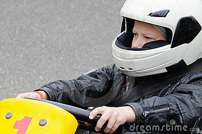 Karting的孩子
