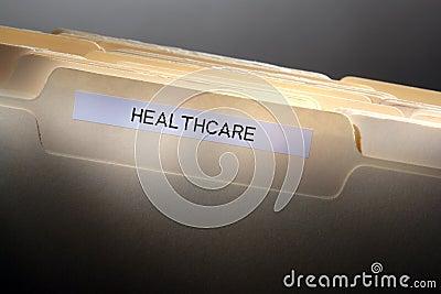 Kartoteki falcówki opieki zdrowotnej historii etykietka medyczna