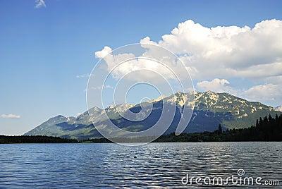 Karwendel Mountain lake
