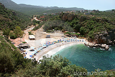 Kas beach, Antalya - Turkey