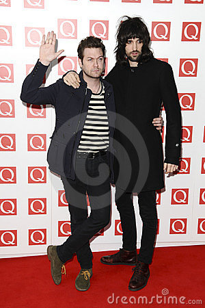 Kasabian Editorial Stock Photo