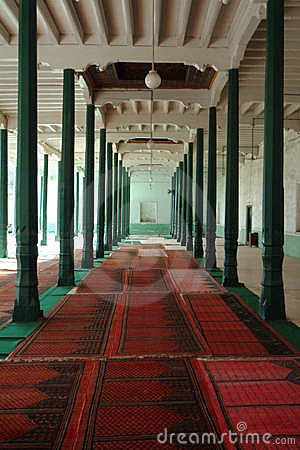 Kashenaichi Aitigaer mosque worship hall location